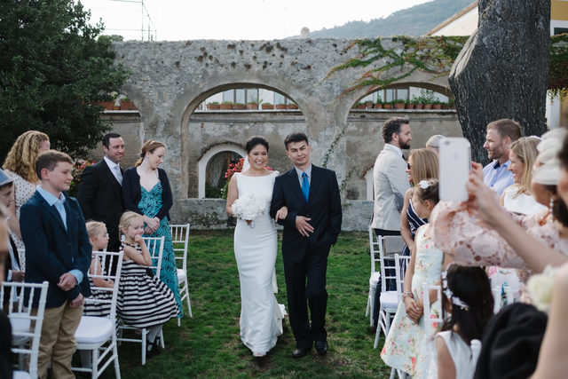 Romantic wedding in Amalfi Coast