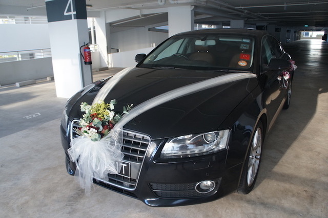 Bridal Car Decorations