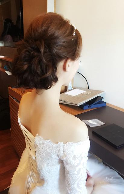 Actual Day Bridal Makeup (I)