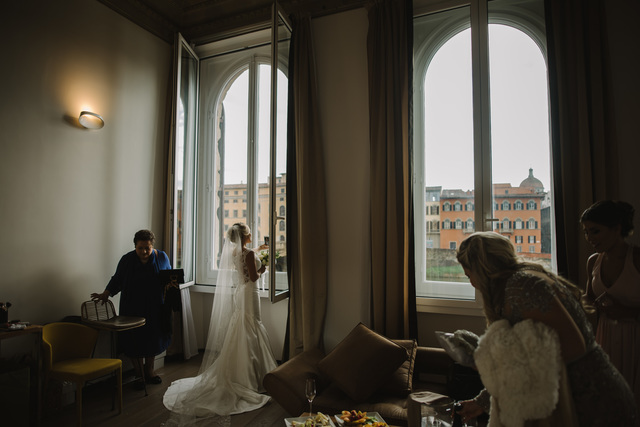 Classic wedding in Florence