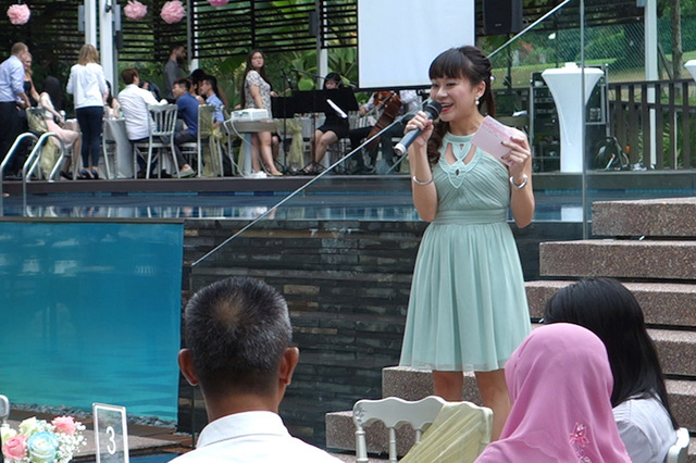 Emcee for Wedding