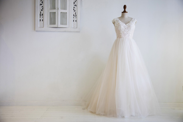 Edited blush pink bridal gown with tulle03