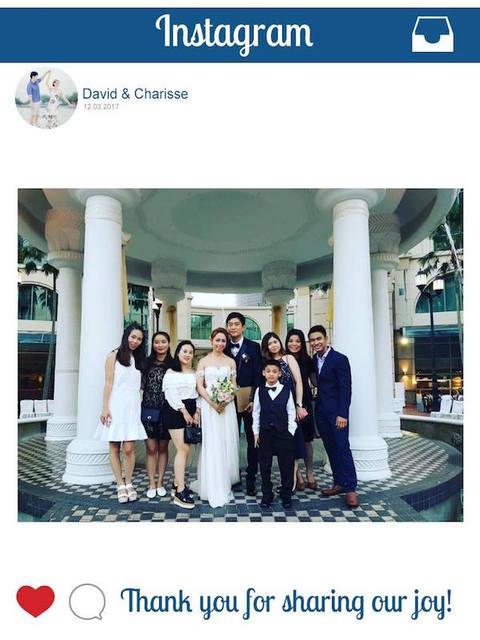 David & Charisse (Instagram Printing)
