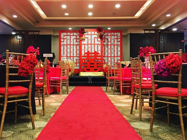 Modern Oriental Wedding