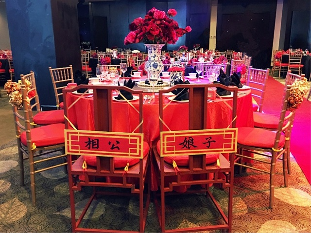 Oriential vip table