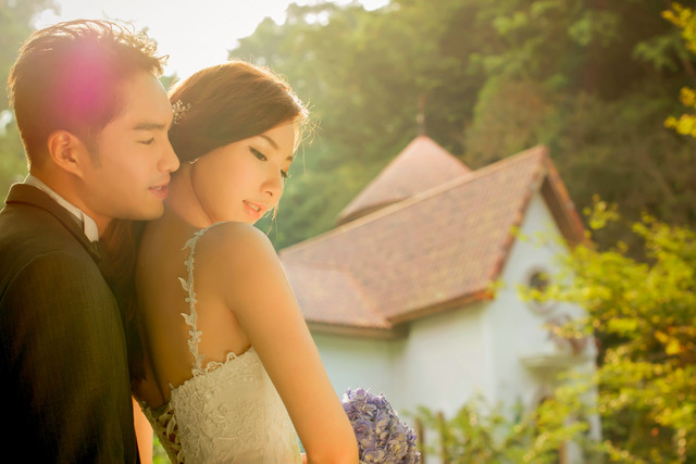 """The Moment with Love and You"" pre-wedding photo"