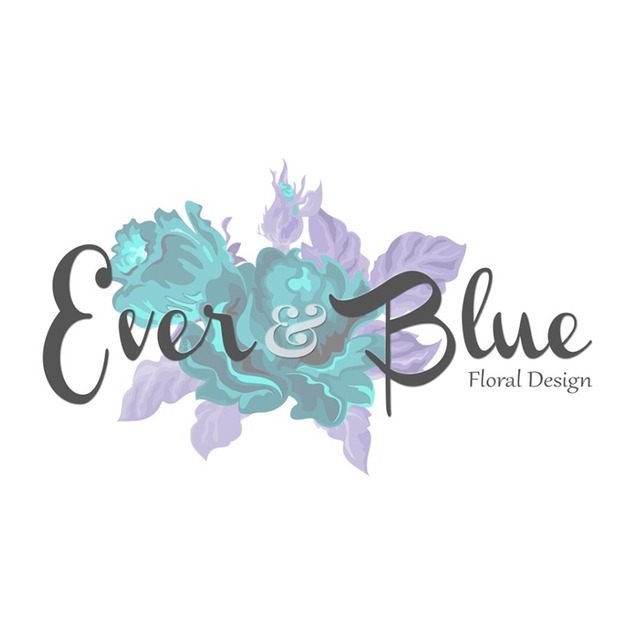 Ever blue floral design logo %28for web%29