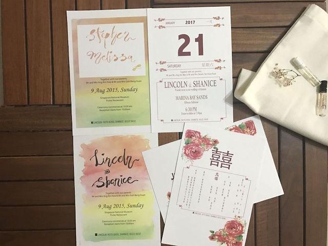 Wedding Invitations - Modern Oriental Design