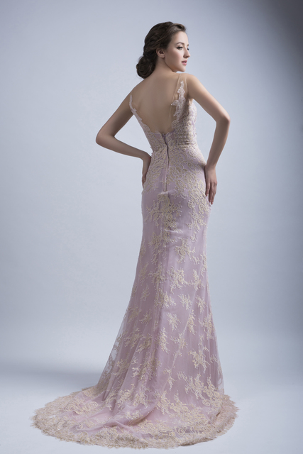 Mermaid Cut Evening Gown