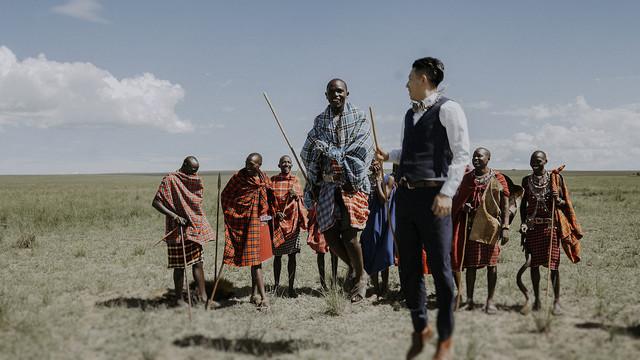 Elopement in Maasai Mara, Kenya