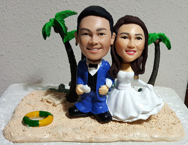 Custom 3D Caricature Figurines