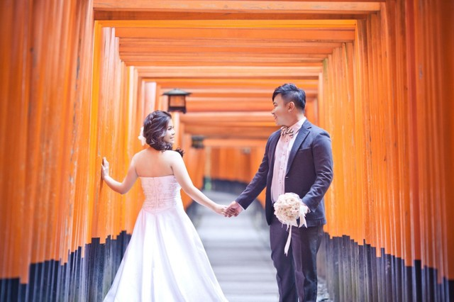 Kenneth Cheng and Charmaine Yap