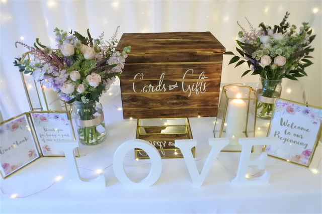 Venue Reception Styling Package