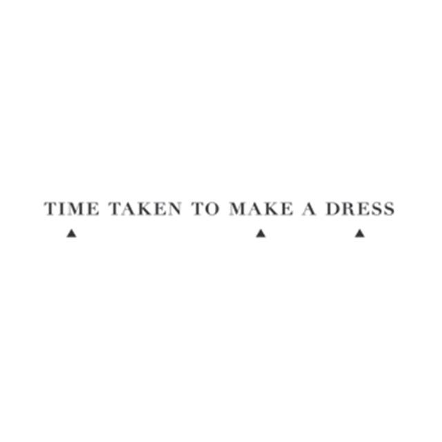 Time taken to make a dress logo %28web%29