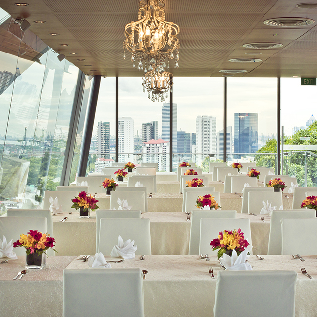 Restaurant With Private Dining Room: Private Dining Room - Faber Peak Singapore