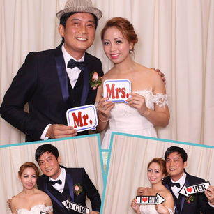 David & Charisse (Photo Booth)