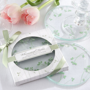 Coasters Wedding Favors