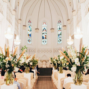 Wedding Setup at Chijmes