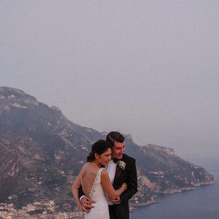 Romantic wedding in Amalfi Coast