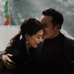 Wedding Proposal at Lake Como