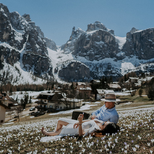 Elopement in the Dolomites