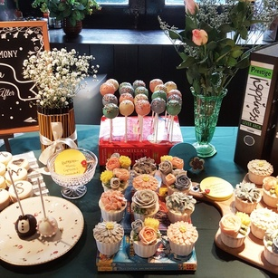 Joyous Wedding Dessert Table