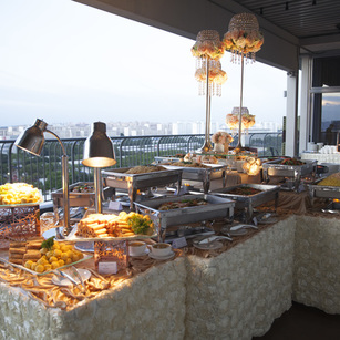 Wedding Standing Buffet