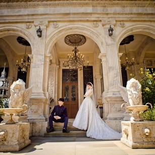 """""""Happiness Ever After"""" Pre-wedding photo"""