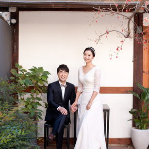 Hanok Wedding Shoot