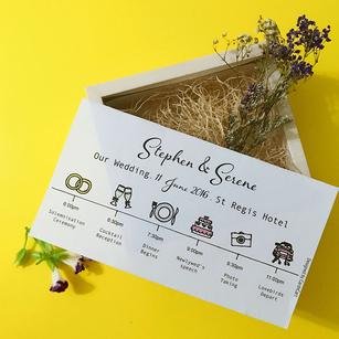 Wedding Invitations - Hand Drawn Invitation