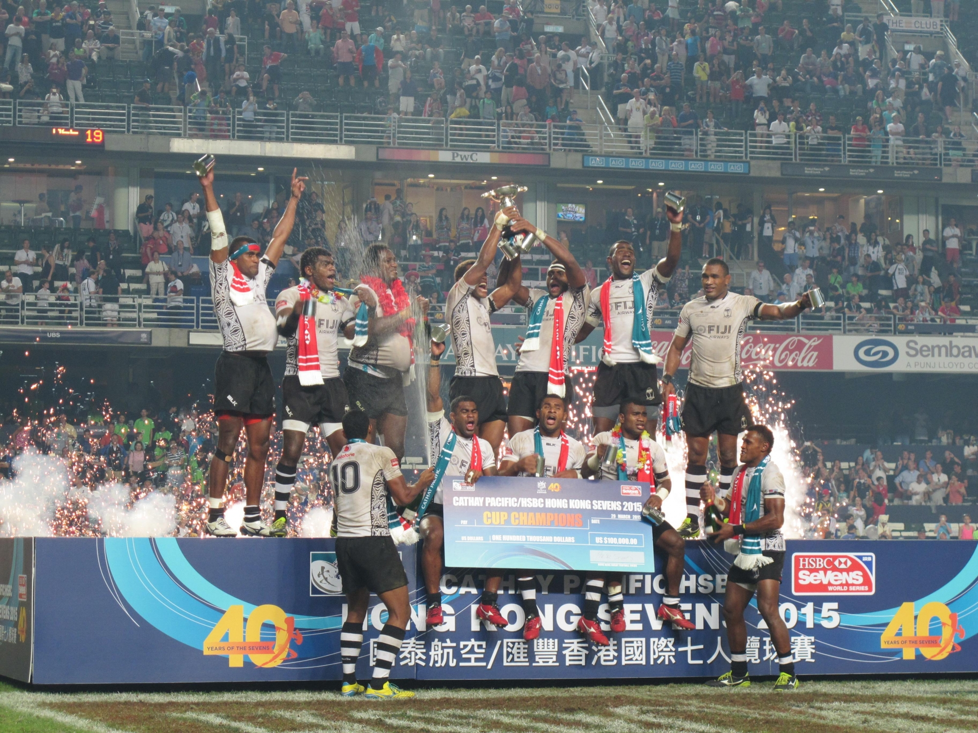 Fiji reclaim Cup champion title in 2015 Hong Kong Sevens ...