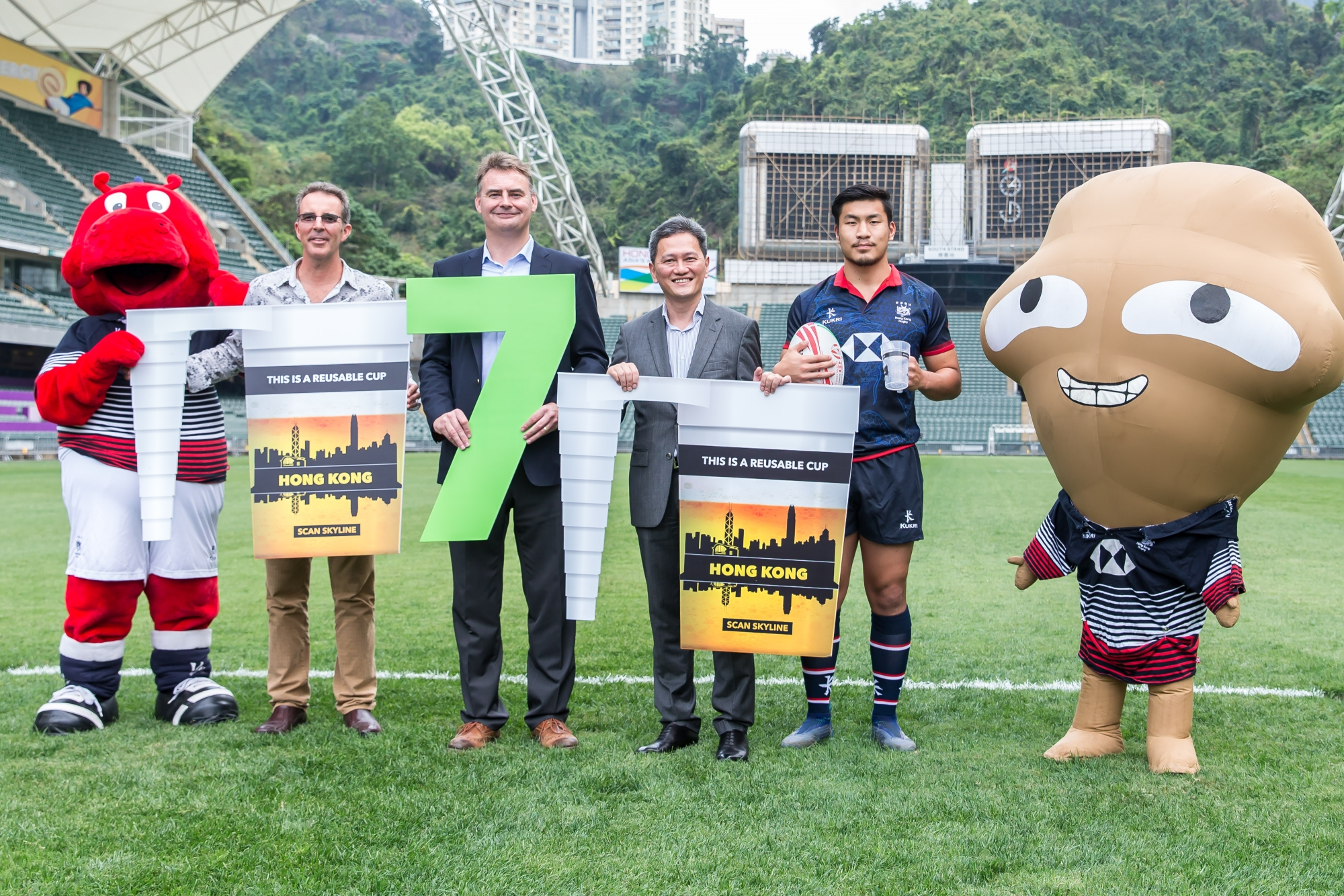 Drink from a cup of kindness at Cathay Pacific/HSBC Hong Kong Sevens