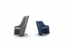 Nagi Armchair by Tomoya Tabuchi for Viccarbe