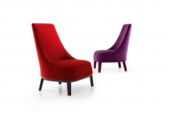 Febo Armchair by Antonio Citterio for Maxalto