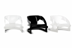 Joe Colombo Armchair by Joe Colombo for Kartell