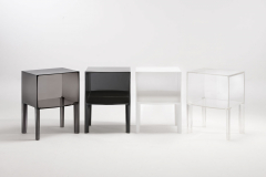 Small Ghost Buster Night Table by Philippe Starck with Eugeni Quitllet for Kartell