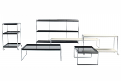 Trays Low Table by Piero Lissoni for Kartell