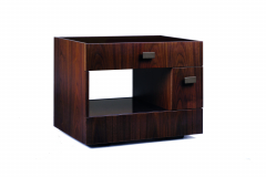 Duet Bedside Table by Antonello Mosca for Giorgetti