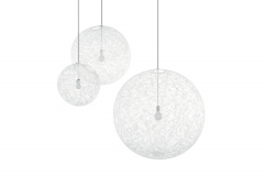 Random Light Large White Suspension Lamp by Bertjan Pot for Moooi