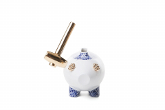 The Killing of the Piggy Bank by Marcel Wanders for Moooi