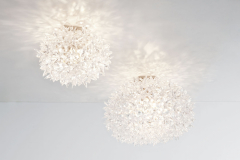 Bloom New Small Ceiling/Wall Lamp by Ferruccio Laviani for Kartell