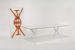 Spoon Table Small by Antonio Citterio with Toan Nguyen for Kartell