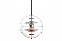 VP Globe Small Pendant Lamp by Verner Panton for Verpan