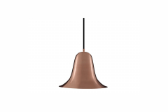 Pantop Pendant Lamp in Copper by Verner Panton for Verpan