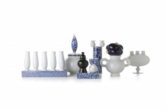 Delft Blue Vases by Marcel Wanders for Moooi