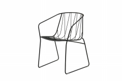 Chee Chair with Arms by Tom Fereday for SP01