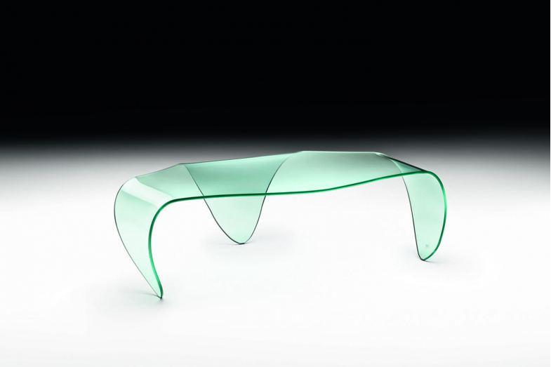 Manta Coffee Table by Roberto Semprini for Fiam Italia