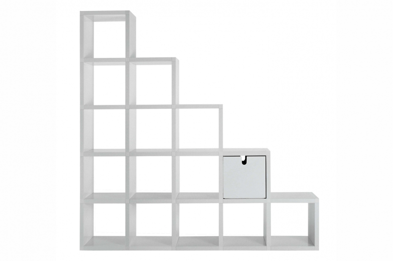 Modular Bookshelf by Giulio Polvara for Kartell