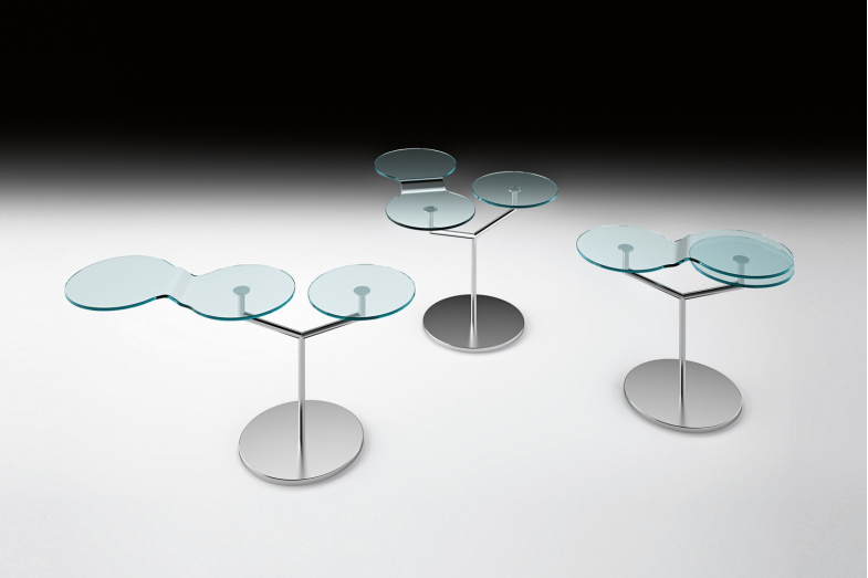 Orbit Side Table by Roberto Paoli for Fiam Italia