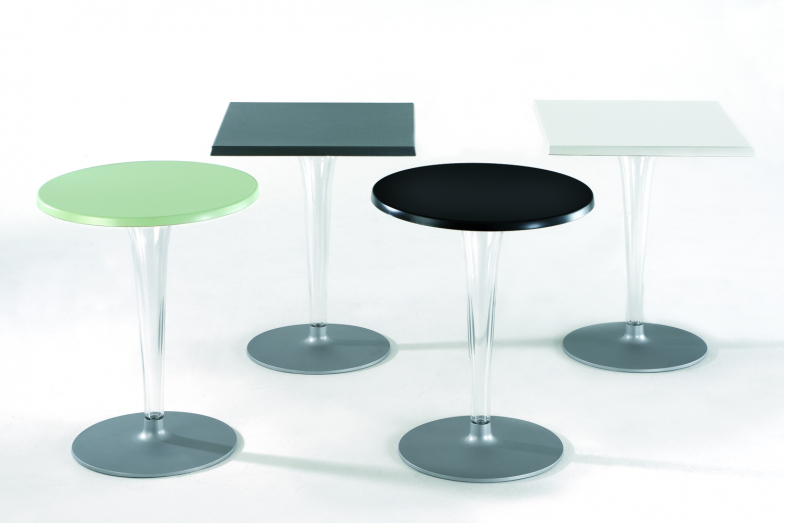 TopTop Outdoor Table with Round Leg by Philippe Starck with Eugeni Quitllet for Kartell